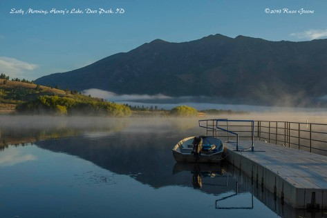 Early Morning at Henry's Lake, Deer Park, ID