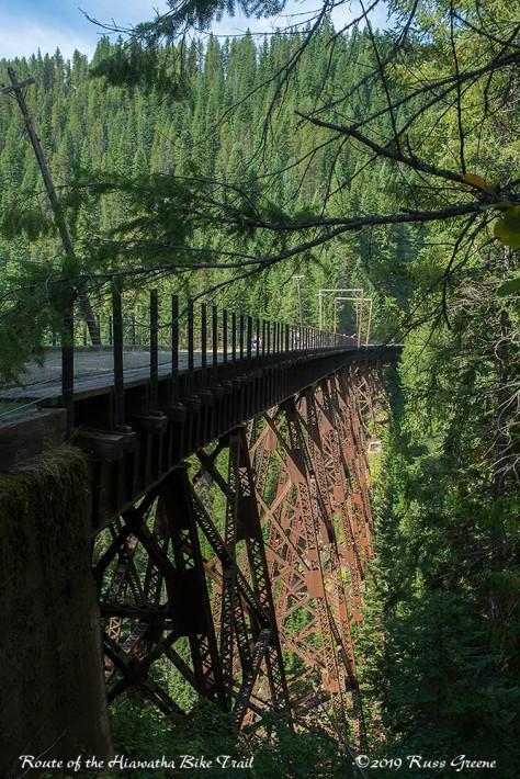 Trestle, Route of the Hiawatha