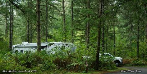 Milo McGiver State Park Campground