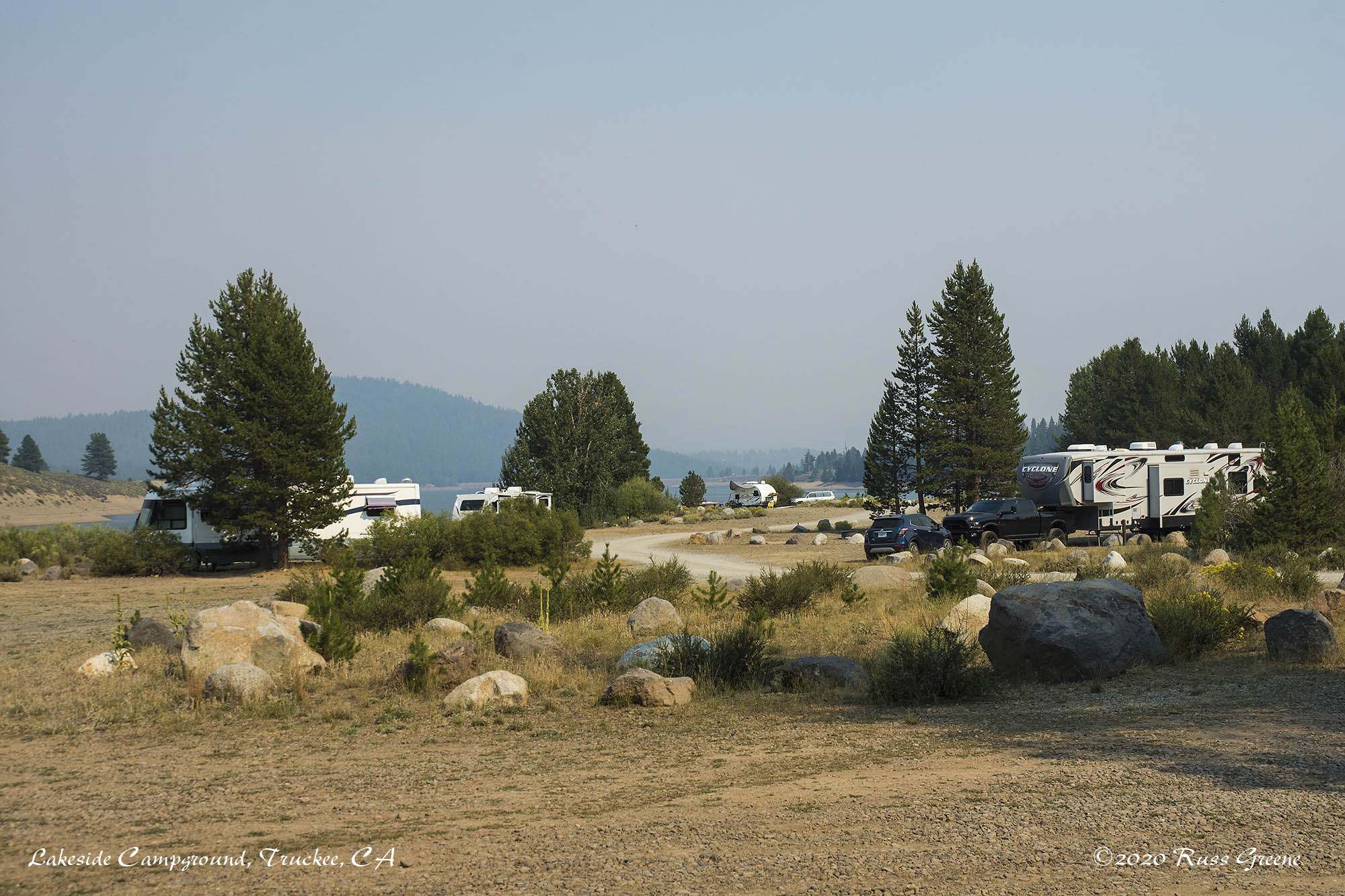 Lakeside Campground, Truckee, CA
