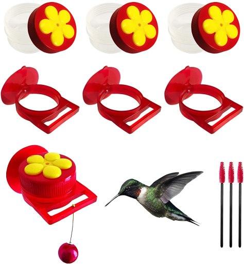 Naomo hummingbird feeders