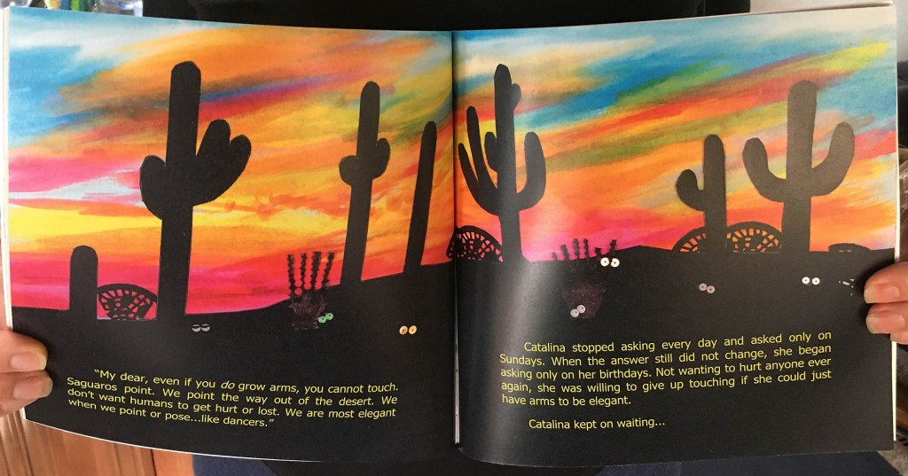 A Touch of Cactus - Night Scene