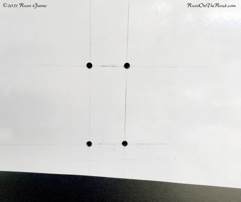 Lines for use with drill guide